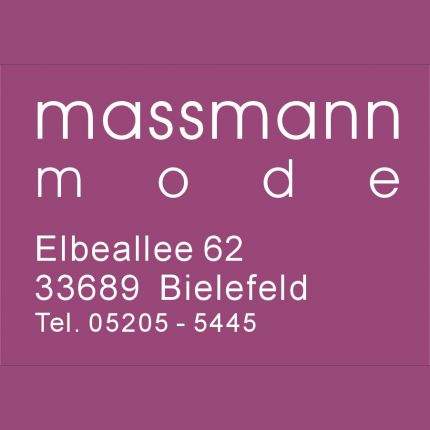 Massmann Mode UG & Co.KG in Bielefeld, Elbeallee 62