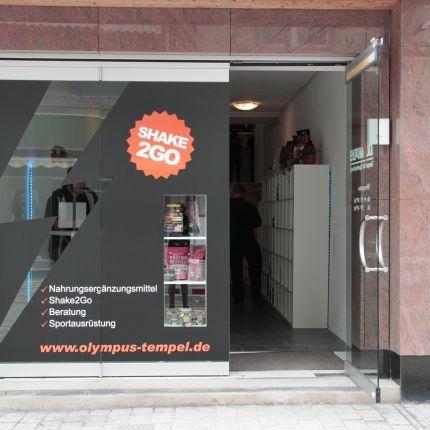 Olympus -Tempel für Sportnahrung in Frankenberg, Neustädter Straße 27