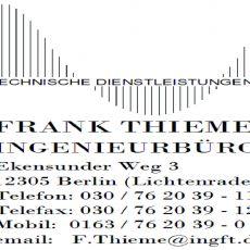Bild/Logo von Ingenieurbüro Thieme in Berlin