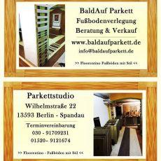 Bild/Logo von  Parkettstudio BaldAuf Parkett in Berlin