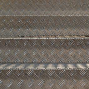 Aluminium-Riffelblech-Stufen