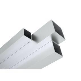 Vierkantrohre aus Aluminium