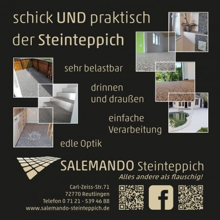 Salemando-Steinteppich in Reutlingen, Carl-Zeiss-Str. 71
