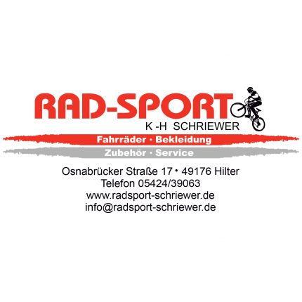 Radsport - Schriewer in Hilter am Teutoburger Wald, Osnabrücker Straße 17