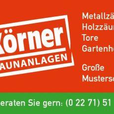 Bild/Logo von Körner Zaunanlagen in Bergheim