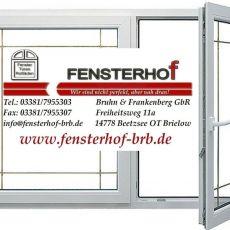 Bild/Logo von Bruhn & Frankenberg GbR Fensterhof in Beetzsee OT Brielow