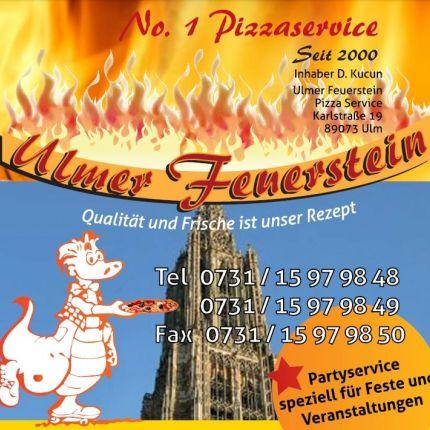 Ulmer Feuerstein Pizza in Ulm, Karlstr. 19