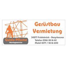 Bild/Logo von Gerüstbau & Montageservice Pflume in Fuldabrück