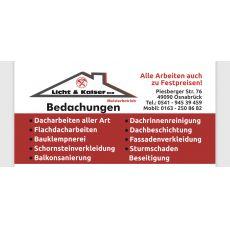 Bild/Logo von Licht&Kaiser GbR Bedachungen in Osnabrück