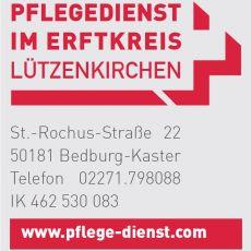 Bild/Logo von Pflegedienst im Erftkreis Lützenkirchen GmbH in Bedburg