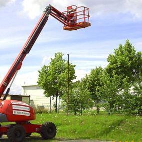 Bild von Baumgarten - Arbeitsbühnenvermietung Bau- & Mietgeräte