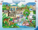 RAVENSBURGER 06661 Puzzle Besuch im Zoo