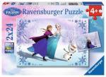 RAVENSBURGER 09115 Puzzle Disney Frozen: Schwestern für immer 2x24 Teile