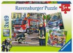RAVENSBURGER 09335 Puzzle Helfer in der Not