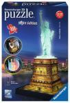 RAVENSBURGER 12596 Freiheitsstatue bei Nacht - 3D Puzzle