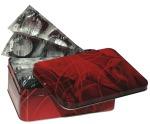 Box mit 50 transparenten Secura Kondomen