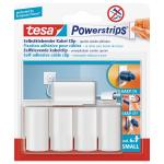 Tesa Powerstrips- Kabel - Clip, Set: 5 Clips, 6 Strips