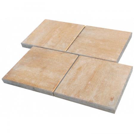 Terrassenplatte Beton Corso Sandstein 40 Cm X 40 Cm X 4 Cm In Berlin
