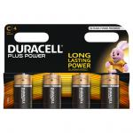 DURACELL Plus Power C Batterie 4 Stück