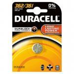 Duracell - D362 / 361 / V362 / 361 / SR58 - 1,55 Volt 24mAh AgO