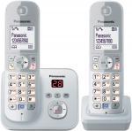 KX-TG6822GS Schnurlostelefon mit Anrufbeantworter perlsilber